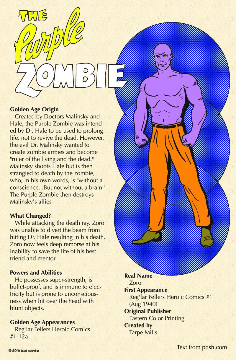 Infosheet-Purple Zombie